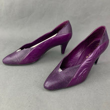 Load image into Gallery viewer, RAYNE Purple MIRADO DALE COURT SHOES Size UK 5.5 - EU 38.5 - US 8 B