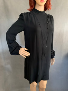 GIVENCHY Paris Ladies Black DRESS - Size FR 40 - UK 12