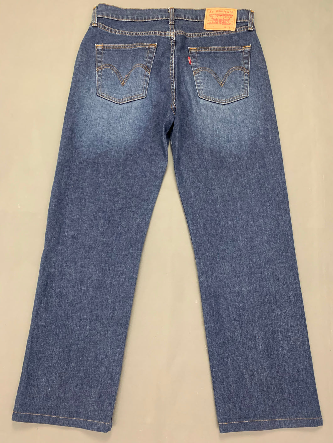 LEVI STRAUSS & Co Mens Blue Denim LEVI'S 751 JEANS Size Waist 32
