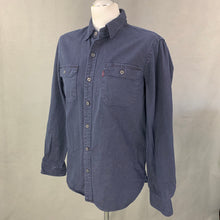 Load image into Gallery viewer, LEVI STRAUSS &Co Mens Dark Blue Denim SHIRT - Size Medium M LEVI'S LEVIS