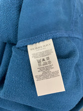 Load image into Gallery viewer, BURBERRY London Mens Blue Cotton JUMPER - Size XL Extra Large