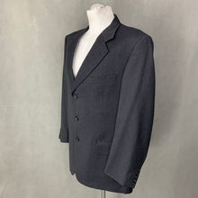 "Load image into Gallery viewer, VALENTINO Mens Grey Wool 2 PIECE SUIT Size 41"" Chest - W36 L30"