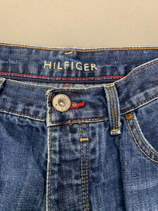 "TOMMY HILFIGER Mens MERCER Blue Denim Straight Leg JEANS Size Waist 32"" Leg 33"""