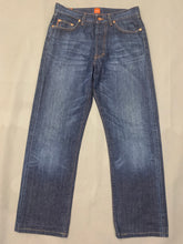 "Load image into Gallery viewer, HUGO BOSS Mens HB1 Blue Denim JEANS Size Waist 32"" - Leg 30"""