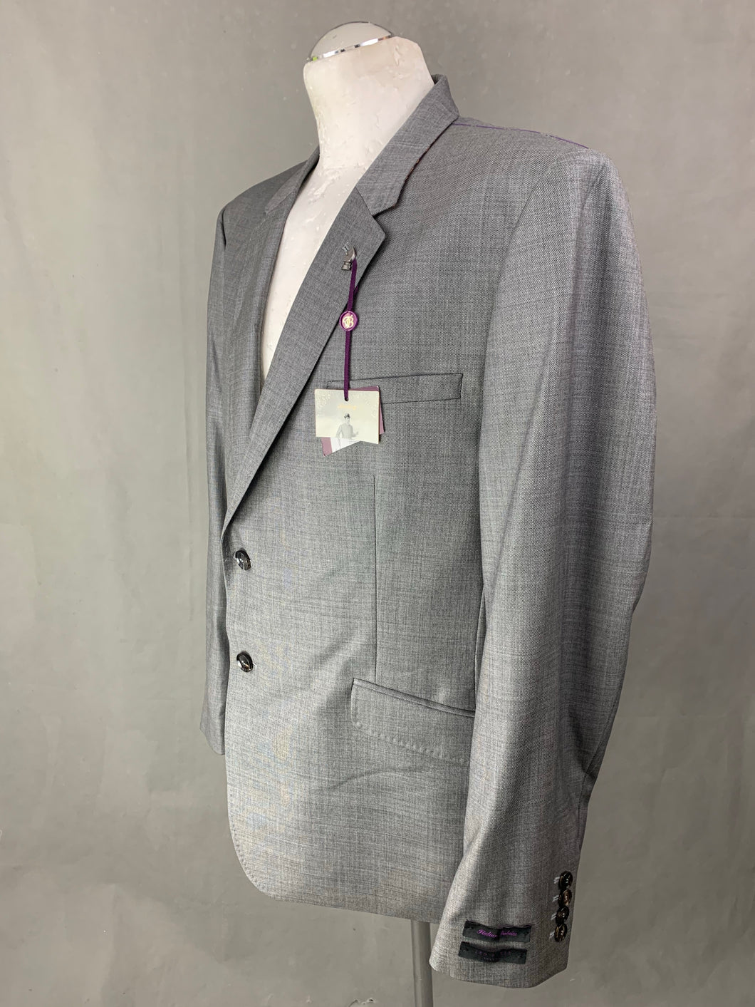 New TED BAKER Mens MODMARJ 100% Wool Blazer / Tailored Jacket Size 46R 46
