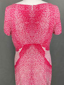 ESCADA Ladies Orchid Silk Blend Pencil DRESS - Size DE 40 - UK 12
