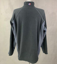Load image into Gallery viewer, BERGHAUS Mens Grey FLEECE TOP - Size Extra Large - XL