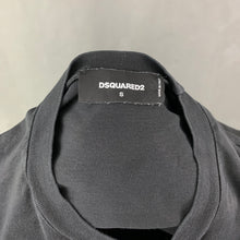 Load image into Gallery viewer, DSQUARED2 Mens Black Crew Neck T-SHIRT Size Small S - TEE / TSHIRT
