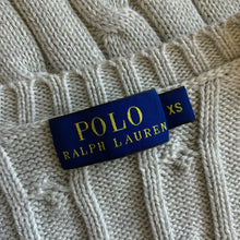 Load image into Gallery viewer, POLO RALPH LAUREN Ladies Cable Knit Jumper JUMPER Size XS Extra Small