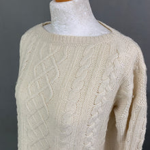 Load image into Gallery viewer, LAUREN RALPH LAUREN Ladies Cable Knit Jumper JUMPER Size XS Extra Small