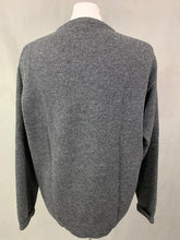 Load image into Gallery viewer, GANT Mens Grey 100% Lambswool Crew Neck JUMPER - Size LARGE L