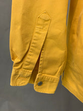 Load image into Gallery viewer, LEVI STRAUSS &Co Mens Yellow Denim SHIRT Size L LARGE LEVI'S LEVIS