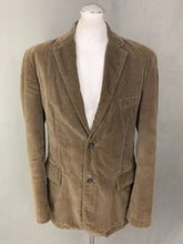 "Load image into Gallery viewer, KARL LAGERFELD Mens Brown Cotton BLAZER / JACKET Size IT 50 - 40"" Chest"