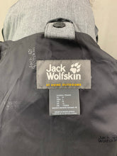 Load image into Gallery viewer, JACK WOLFSKIN Ladies Grey TEXAPORE COAT / JACKET Size M Medium UK 12