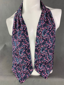 VAN BUCK Gentleman's Pure Silk Paisley DRESS SCARF
