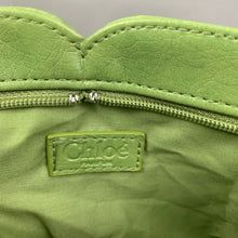 Load image into Gallery viewer, CHLOÉ Ladies Green Leather CLUTCH BAG / HANDBAG - CHLOE HAND BAG