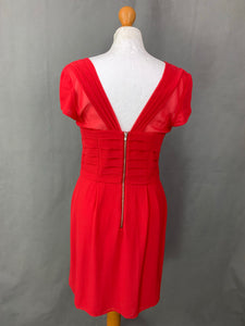THE KOOPLES Ladies Structured Red DRESS Size XL - Extra Large