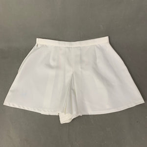 Vintage FRED PERRY SPORTSWEAR Ladies White Pleated SKORTS - Size UK 14