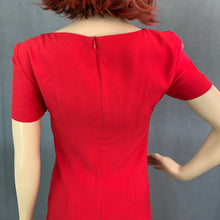 Load image into Gallery viewer, MOSCHINO CHEAPandCHIC Red DRESS - Size IT 38 - UK 6