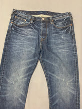 "Load image into Gallery viewer, PAUL SMITH Mens Blue Denim JEANS Size Waist 32"" - Leg 32"""