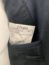 "Load image into Gallery viewer, ERMENEGILDO ZEGNA Blue Wool 2 PIECE SUIT Size IT 50 R - 40"" Chest W34 L31"