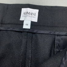 Load image into Gallery viewer, ARMANI COLLEZIONI Ladies Dark Blue Virgin Wool Trousers Size IT 44 - UK 12