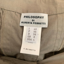Load image into Gallery viewer, PHILOSOPHY di ALBERTA FERRETTI Ladies Cotton SKIRT Size IT 40 - UK 8