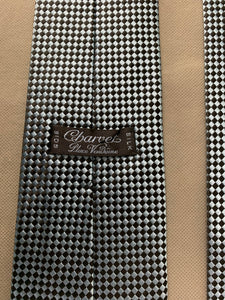 CHARVET Paris Mens 100% SILK TIE - Made in France