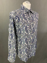 Load image into Gallery viewer, ETRO MILANO Mens Paisley Pattern SHIRT - Size Large - L - Made in Italy