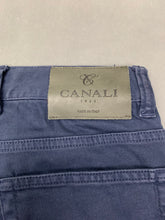 "Load image into Gallery viewer, CANALI Mens Blue Denim Straight Leg JEANS Size IT 48 - Waist 32"" - Leg 29"""