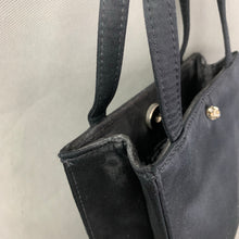 Load image into Gallery viewer, KATE SPADE New York Black Satin HANDBAG