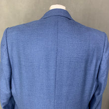 "Load image into Gallery viewer, DUCHAMP Mens Tailored Fit SILK Blend BLAZER / SPORTS JACKET - Size 46R / UK 46"" Chest"