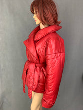 Load image into Gallery viewer, NORMA KAMALI Ladies ICONIC Red SLEEPING BAG COAT Size XS / S