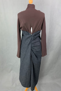 LANVIN Wool DRESS Size IT 42 - UK 10
