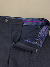 "Load image into Gallery viewer, New TED BAKER Mens Dark Blue Tapered Leg TROUSERS Waist 32"" Leg 32"" BNWOT"