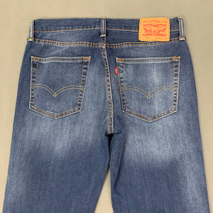"LEVI STRAUSS &Co Mens LEVI'S Blue Denim 514 JEANS Size Waist 31"" Leg 32"" LEVIS"