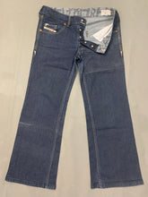 "Load image into Gallery viewer, DIESEL Ladies Blue Denim VIXY Bootcut JEANS - Size Waist 31"" - Leg 29"""
