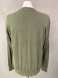 HENRI LLOYD Mens V-Neck JUMPER - Size M Medium