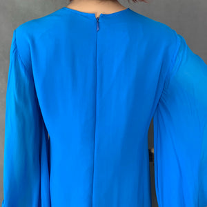 PAUL SMITH 100% Silk DRESS Size IT 40 - UK 8 - Made in Italy