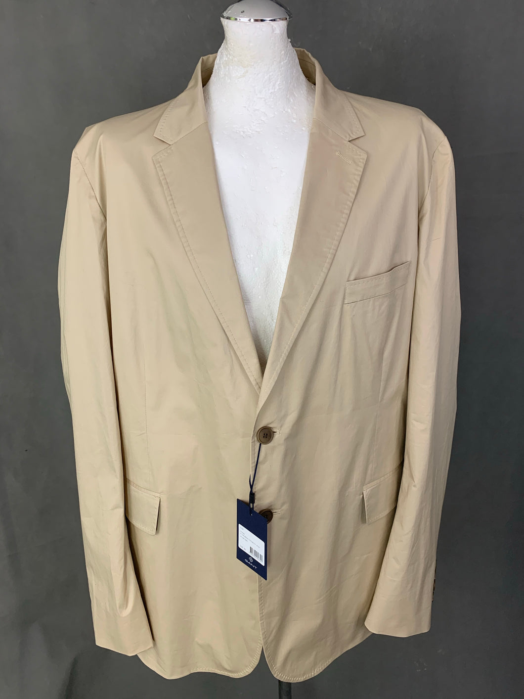 New GANT Mens THE BREEZE Cotton BLAZER / SPORTS JACKET - Size IT 60 / UK 50