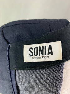 SONIA RYKIEL Navy Blue DRESS - Size FR 38 - UK 10 - S Small