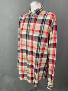 GANT Mens HANDLOOM MADRAS Casual Fit SHIRT - Size 2XL XXL