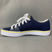 Load image into Gallery viewer, POLO Ralph Lauren Blue Canvas CROFTON-NE TRAINERS / SHOES Size UK 8 - EU 42