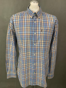 BARBOUR Mens Tailored Fit TERENCE SHIRT Size XL - Extra Large