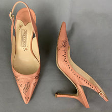 Load image into Gallery viewer, JIMMY CHOO BOUTIQUE Pink Slingback High Heels / Shoes Size EU 39 - UK 6
