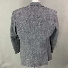 "Load image into Gallery viewer, DUNN &Co DONEGAL TWEED Mens Grey BLAZER / JACKET Size 42R - 42"" Chest"