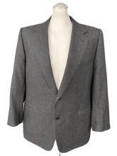 "Load image into Gallery viewer, CANALI Mens Grey CASHMERE & Wool BLAZER / SPORTS JACKET Size IT 56 - 46"" Chest"