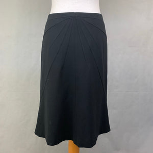MAXMARA Ladies Black A-Line SKIRT Size IT 42 - UK 10 MAX MARA