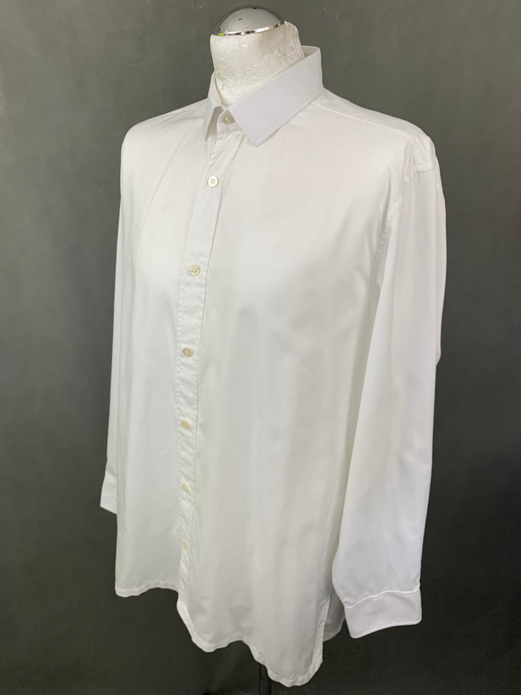 CHARVET Paris Mens White Long Sleeved SHIRT - Size 42