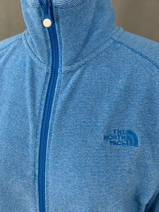 THE NORTH FACE Ladies Blue POLARTEC Zip Fasten FLEECE JACKET Size XL Extra Large